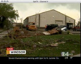 "RMN089 A large tornado wreaked ""total destruction"" in the northern Colorado town of..."