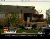 "RMN090 A large tornado wreaked ""total destruction"" in the northern Colorado town of..."