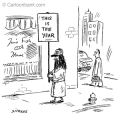 A cartoon that appearedin the June 7 New Yorker also might raise this question: Would it be the...