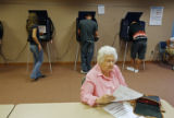Jefferson County precinct 10 residents cast their early ballots on October 30, 2008. Friday will...