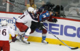 DM5426  NHLxxxAvsxxBluexxxJacketsxx55445 Columbus Blue Jackets defenseman Fedor Tyutin #51 and...