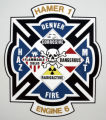 The design on the outside  of a new unused $750,000 HazMat vehicle at the DFD Fleet garage in...