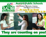 A flier for the Yes on 3A and 3B for public school funding in Colorado. We explore the undervote...