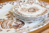 Platters for Thanksgiving for Home Front.  (ELLEN JASKOL/ROCKY MOUNTAIN NEWS)