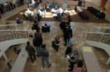 Voters at Pikes Peak Community College's Rampart location lined up to vote in northeastern...