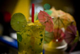 Mango mojito is a drink made specially at Swing Thai when Eat drink shop visits Berkley Park for...