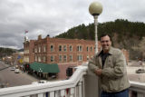 Steve McEnroe/Journal staff: George Milos, director of the Deadwood Chamber of Commerce, looks...