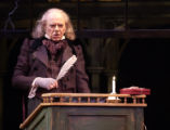Philip Pleasants as Ebenezer Scrooge in the Denver Center Theatre Company's sparkling musical...