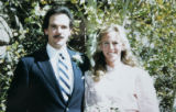 PHOTO OF KIRK AND ANN HANNA AT THEIR WEDDING IN 1988. (FAMILY PHOTO COURTESY ANN HANNA)  Nearly 10...