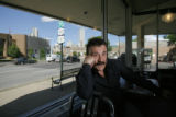 DNC PARADE ROUTE+53164  George Skordos, owner of the Denver Diner, worries that the closures...
