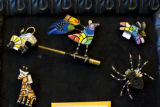 Handmade jewlery priced from $30-&119 is one of the artistic creations sold at the Art and...