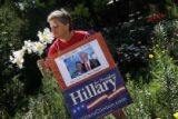 DM0044  Carmella Lewis of Denver said she still smells a victory for Hillary Clinton in the...