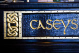 The bar at Casey's Meeting Place is hand carved. MARIE GRIFFIN / ROCKY MOUNTAIN NEWSBella Thomas...