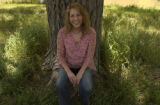 Jena Shurley(cq) within the Mamie Dodd Eisenhower Park, 4300 W. Dartmouth Ave, Denver, Colo.,...