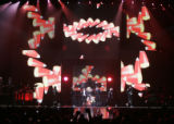 (JPM001) - Madonna performs Tuesday night, Nov. 11, 2008 at the Pepsi Center in Denver. The first...
