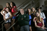 Portrait of (from top Left)- Carrie Baird, of Cherry Creek. Gabrielle Dewberry, of Cherry Creek,...