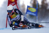 DM1500  BirdsOfPrey56022 American skier Ted Ligety grazes a gate as he competes during the first...