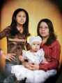 June 1, 2005, Family photo of sisters (L-R) Elizabeth, 12, Melissa,3, and Cindy Duran,17 from...