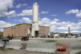 Mountain Park Cement Plant (on left0 and the garage (brown on rt,) in Granby,CO May, 31, 2005....