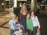 "Linda Billings and Pace, left, Cooper, Emma, and Maddie are heading to Tucson ""to see grandma..."