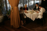 Chef Matt Mine prepares an Italian seven seafood dinner at the Oceanaire Seafood Room in Denver. ...