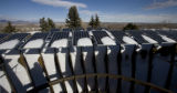 Tom Wright's home of 8,000 square feet has a dish on top filled with solar panels from Vibrant...