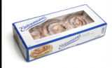 Packaging for cinnamon rolls.  Entenmmanns.  These photos are meant to run small.   (ELLEN...