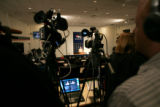 0315 Denver Broncos Mike Shanahan holds  a press conference at Dove Valley in Englewood Colo.,...