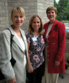 June 8, 2005. Women of Distinction Reception for Girl Scouts - Mile Hi Council. (L-R)  Barbara...