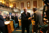 (PG10118) Gov. Bill Ritter delivers the state of the state address at the Capitol on Thursday,...