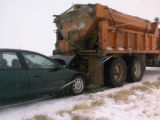 On 01-12-09 at about 0918 hours, John Archuleta, 70 of Colorado Springs rear ended a CDOT snow...
