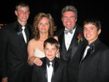 Father of the Year Awards 2005 - June 20, 2005, Grand Hyatt Denver. Padilla Family members...