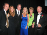 Father of the Year Awards 2005 - June 20, 2005, Grand Hyatt Denver. The Wolf family, from left,...