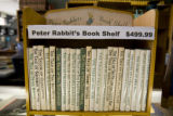 An old Peter Rabbit book collection sits for sale on the counter at Book World, 2353 S. Havana...