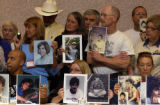 (Denver, Colo., June 11, 2004) Participants of SNAP, Survivors Network of Those Abused by Priests,...