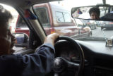 Taxi driver Ramon Ortiz (cq), talks about Mexican extradition law and how in a city of over 21...