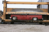 DM0223   Pablo Alcala's 1981 Chrevolet pick-up gets crushed at Colorado Auto & Parts inn...