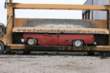 DM0224   Pablo Alcala's 1981 Chrevolet pick-up gets crushed at Colorado Auto & Parts inn...