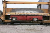 DM0225   Pablo Alcala's 1981 Chrevolet pick-up gets crushed at Colorado Auto & Parts inn...