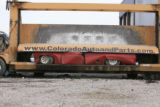 DM0228   Pablo Alcala's 1981 Chrevolet pick-up gets crushed at Colorado Auto & Parts inn...