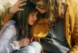 MJM071  Lumberg Elementary School student, Cierra Martinez , 10, is comforted by Ami Phillips (cq)...