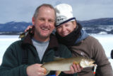 Ed Dentry photo for Feb. 29, 2008 The big catch. Congratulations to Bernie and Leesa Keefe, who...