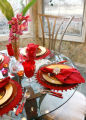 The breakfast nook in the Snyder's house.  It's Open House with Denise Snyder, the owner of...