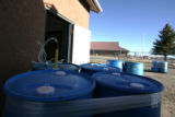 The Weber well is pumped from this facility to the Craft water tower in  Alamosa Thursday March...