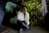 DM1292   Jolt, a Denver graffiti artist who grew up in north Denver, is one of 15 people who have...