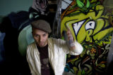 DM1293   Jolt, a Denver graffiti artist who grew up in north Denver, is one of 15 people who have...