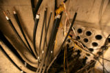 A lot of conduit and air tunnels are remnants of former owners and are ready to be recycled at the...