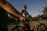 Tourists from Canada enjoy a bike ride on the streets of Sayulita, the town where Mrs. Graff...