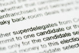 Letters to the superdelegates received by Pat Waak, chair of the Colorado Democratic Party (JUDY...