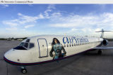 "PRN13 - AirTran Airways unveiled a commemorative Boeing 717 aircraft, dubbed ""AirTranica..."